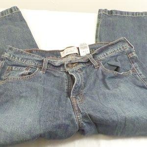 Levis Stretch Womans Cropped Capri Jeans Misses 16